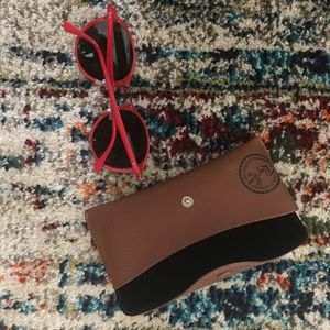 Ray-Ban Accessories - Ray-Ban | Round Red Sunnies